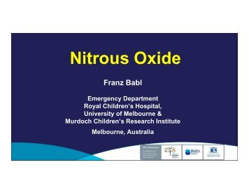 Nitrous Oxide - MCI
