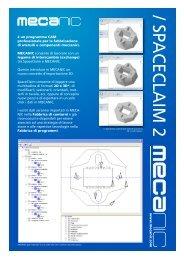 Brochure Informativa Mecanic 7.4 - Mecasoft SA