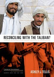 Reconciling With the Taliban? Toward an Alternative Grand Strategy ...