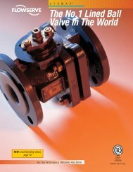 The No.1 Lined Ball Valve In The World - Bay Port Valve & Fitting