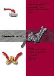Ball Valves and Throttle Valves - Luedecke.de