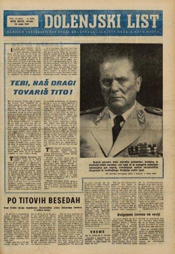 24. maj 1962 (št. 635) - Dolenjski list