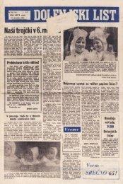 30. december 1964 - Dolenjski list