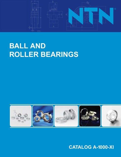 ball and roller bearings - NTN Bearing Corporation of