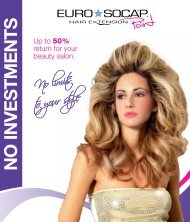 NO INVESTMENTS - EUROSOCAP hair extension