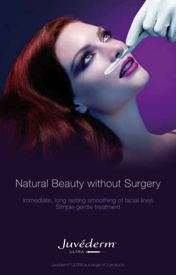 Natural Beauty without Surgery - Caroline Gibson
