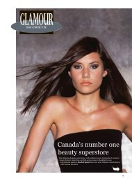 Canada's number one beauty superstore - Glamour Secrets