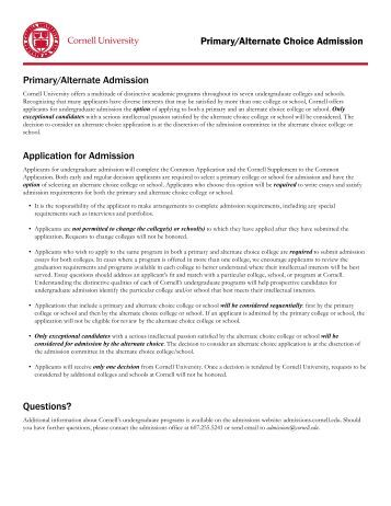cornell admissions essay Applying to cornell university get up-to-date admissions statistics, sat scores, student reviews, and more from the princeton review.