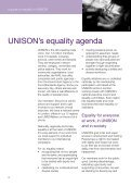 A guide to equality in UNISON - Page 4
