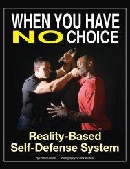 Reality-Based Self-Defense System - Black Belt Magazine