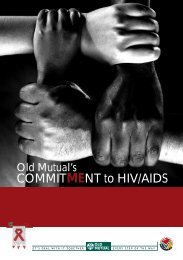 COMMITMENT to HIV/AIDS - World Economic Forum