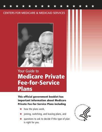Medicare Private Fee-for-Service Plans - Medicare.gov
