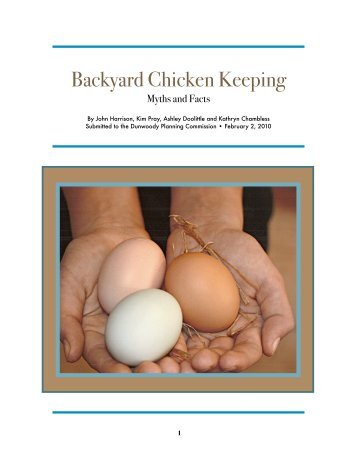 Backyard Chicken Keeping - Heneghan Family of Dunwoody, Georgia.