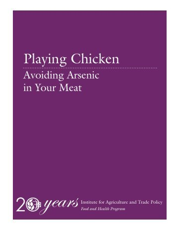 Playing Chicken: Avoiding Arsenic in Your Meat - Institute for ...