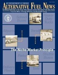 Alternative Fuel News Vol.2 - No.6 - EERE - U.S. Department of ...