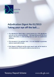 Adjudication Digest No 01/2013 Taking your eye off the ball…..