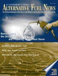 Alternative Fuel News Vol.2 - No.5 - EERE - U.S. Department of ...