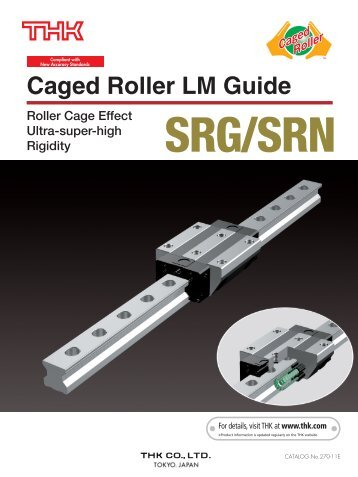 Caged Roller LM Guide SRG/SRN - THK Technical Support