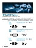 Caged Roller LM Guide SRG/SRN - THK Technical Support - Page 6