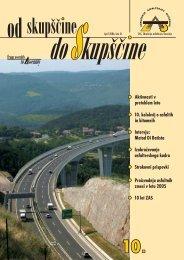 od skupščine do Skupščine (10/2006) - ZAS - Združenje asfalterjev ...
