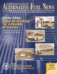 Alternative Fuel News Vol 5 No 1 - EERE - U.S. Department of Energy