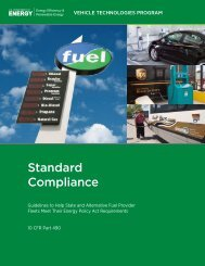 Standard Compliance: Guidelines to Help State and Alternative Fuel ...
