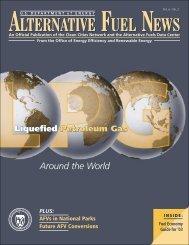 Alternative Fuels News, Volume 6, No. 2 - EERE - U.S. Department ...