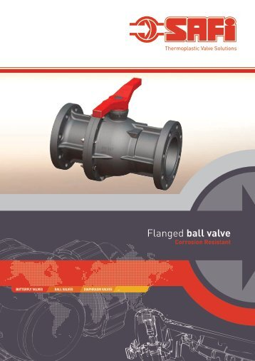Flanged ball valve - Safi