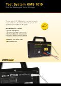 Cable Assemblies Versatile and Customized - Solar-Kabel - Page 7