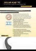 Gamme complète pour le câblage photovoltaïque Des ... - Solar-Kabel - Page 2