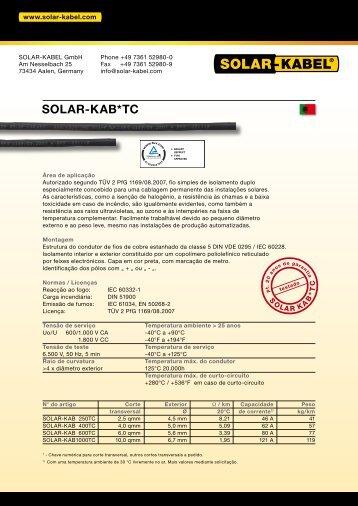 SOLAR-KAB*TC - Solar-Kabel