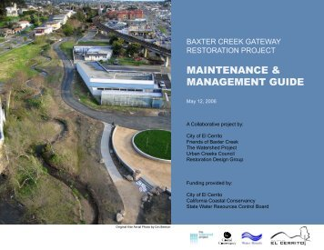 maintenance & management guide - Alameda County Watershed ...