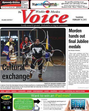 Morden hands out final Jubilee medals - Rackspace Hosting
