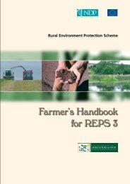 Farmer's Handbook for Rural Environment Protection Scheme (REPS