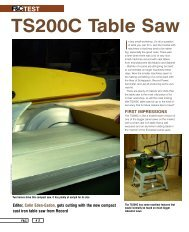 TS200C Table Saw - D & M Tools