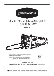 "20V LITHIUM-ION CORDLESS 10"" CHAIN SAW - Home Depot"