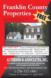 ALVERSON & ASSOCIATES, INC. - The Franklin County Times