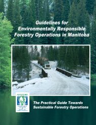 Guidelines for Environmentally Responsible Forestry Operations