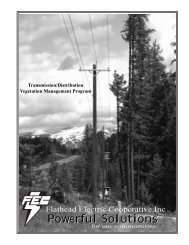 Right of Way Handbook (PDF format) - Flathead Electric Cooperative