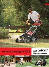 2013 Consumer Catalogue - Efco