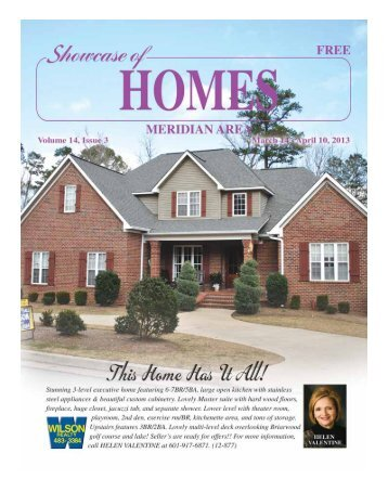 Showcase of HOMES: Meridian Area - Blake Publishing Online