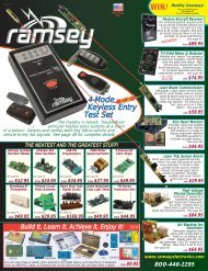 Ramsey Electronics 2012 Catalog - Home