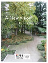 A New Vision for Freeway Park - City of Seattle