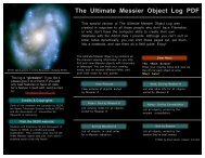 The Ultimate Messier Log - PDF Version - AstroSurf