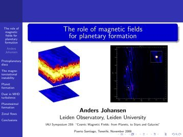 the role of magnetic resonance imaging