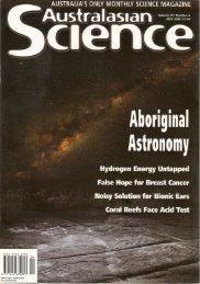 Emu Dreaming - Australia Telescope National Facility