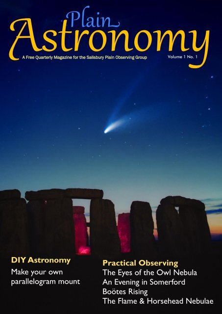 Practical Observing The Eyes of the Owl Nebula An Evening in ...