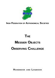 IFAS Messier Observing Challenge - MiNDS
