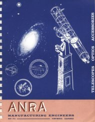 Early 1960s ANRA Catalog