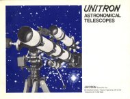 1972 Unitron Catalog